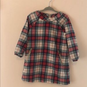 GAP Classic Plaid Dress